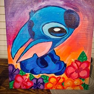 lilo and stitch painting!